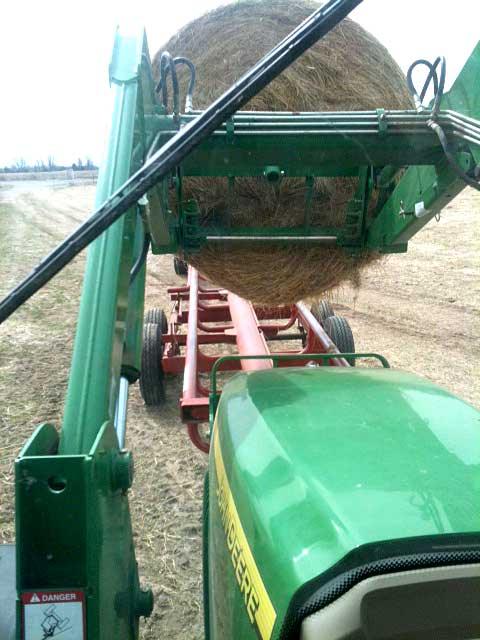 hay-hauling