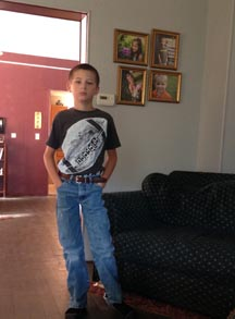 My boy in his jeans.