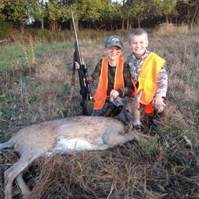 First deer.