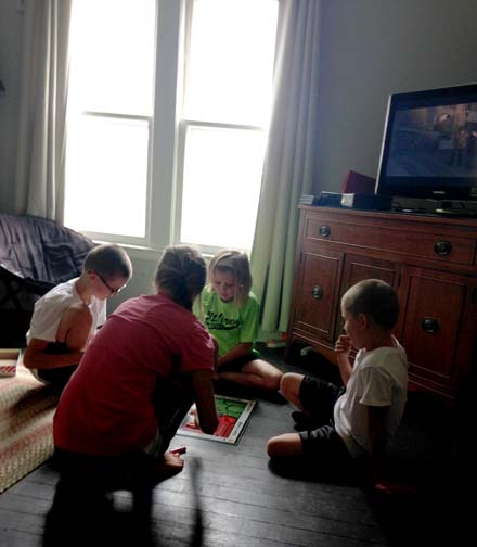The kiddos LOVE to play games. Sometimes the sessions even end without a fight!